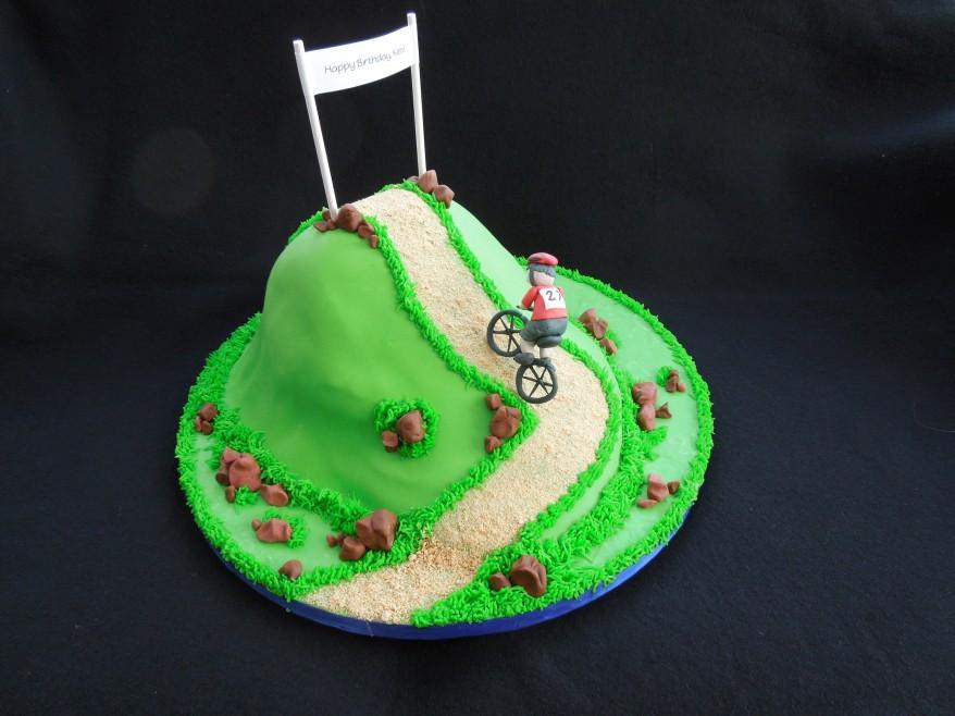 biker cake