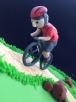 Fondant biker