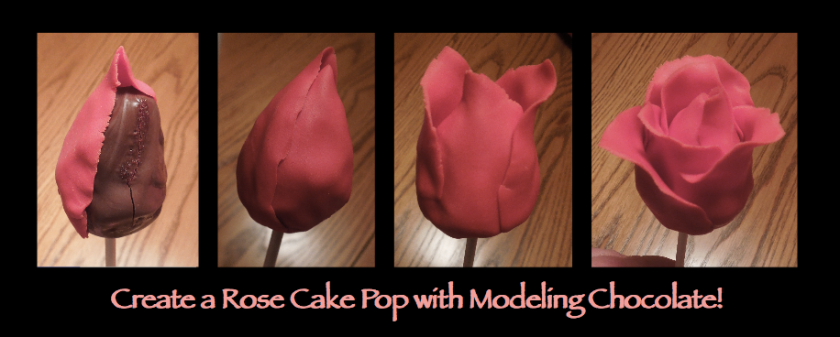 Rose cake pop tutorial