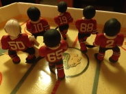 blackhawks players from the back
