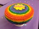 Rainbow buttercream
