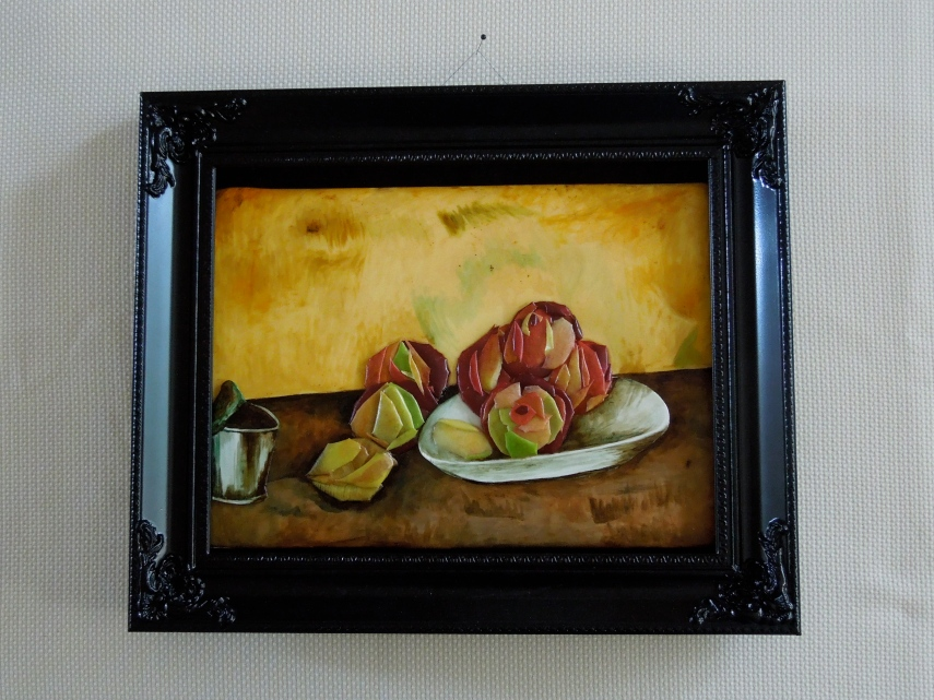 cezanne apple still life with cake