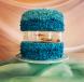 Live fish swimming in cake