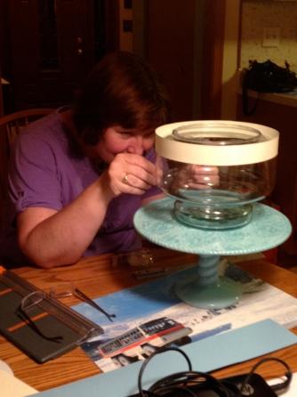 fish bowl cake 1