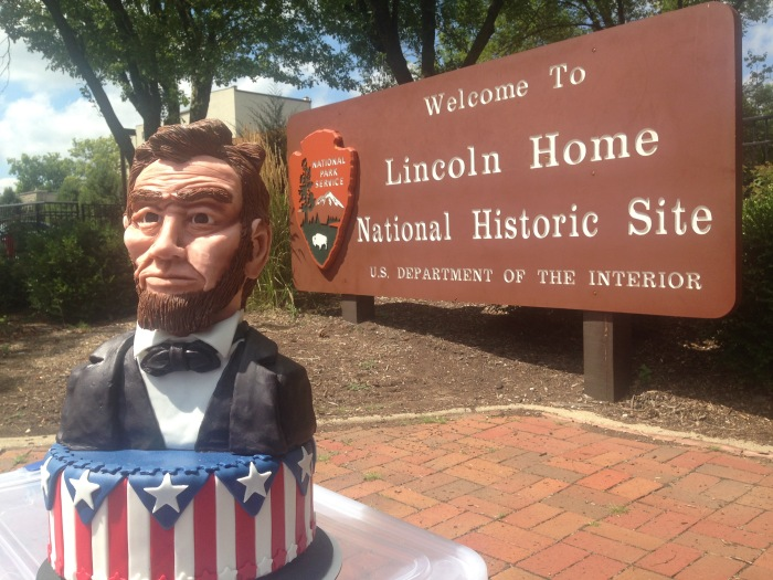 abraham abe lincoln comes home to springfield