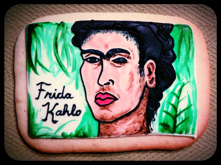 cookie painting frida kahlo